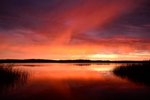 July 21st, 2012 - An atypical sunrise for this area of the country. Rich and memorable!