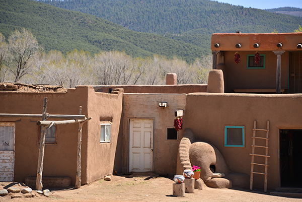 South Pueblo dwelling