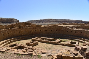 The large Kiva suggests a high number of participants in the ancient rituals.