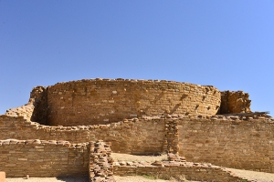 Chetro Ketl's upper level of an ancient Pueblo Great House.