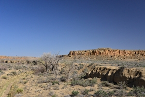 One last view of Chaco Canyon.
