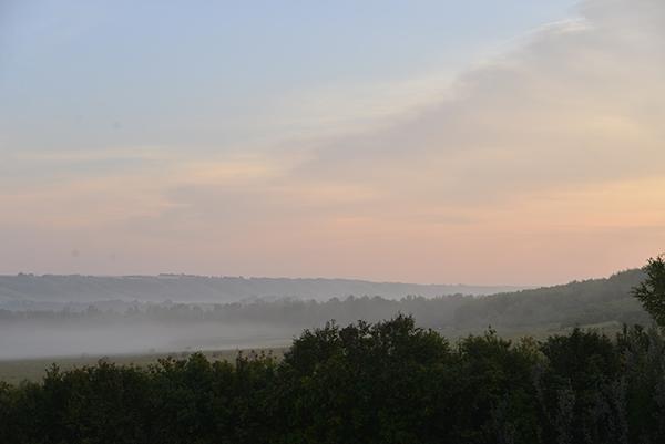 Shekinah sunrise