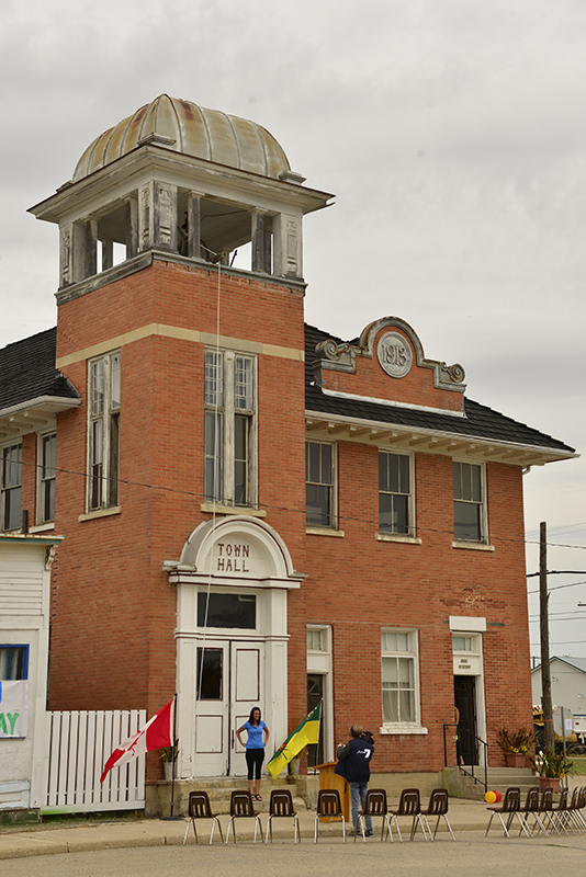 An impressive brick building reasonably well preserved continues to draw visitors and locals.