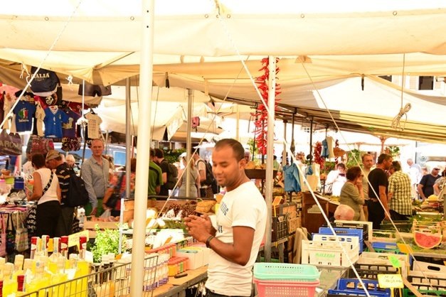 Campo de' Fiori market 1
