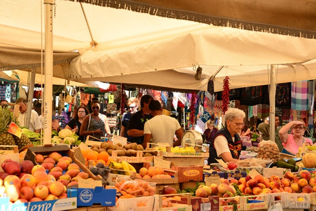 Campo de' Fiori market 2