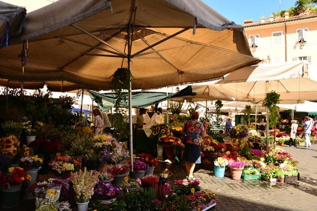 Campo de' Fiori market 3