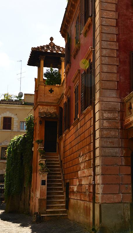 Trastevere stairs
