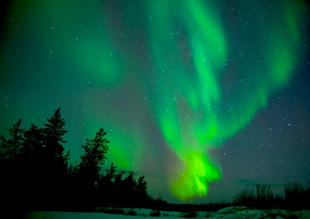 Aurora's Dance was oe of the images I made last November during my visit to Yellowknife,