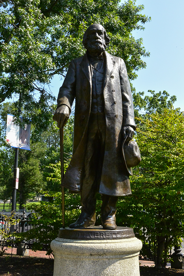 Edward Everett Hale Patriot sculpture