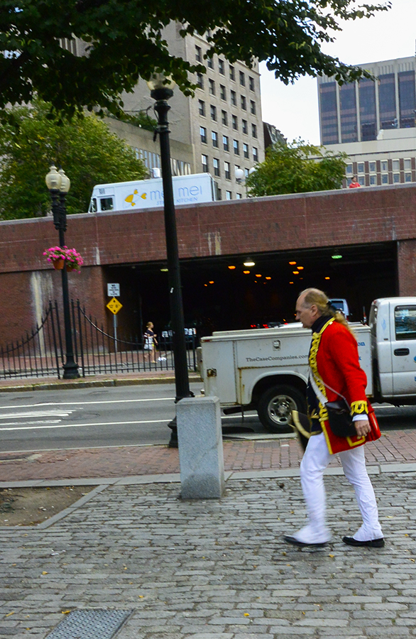 Time to carry on and follow this historic figure; next stop Quincy Market and Fenuil Hall.