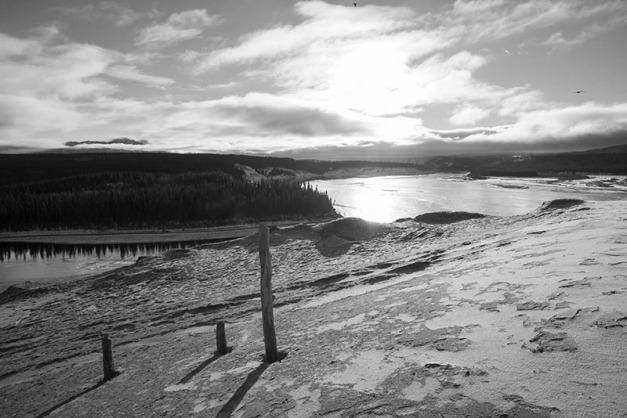Long Shadows high above the Yukon River_edit