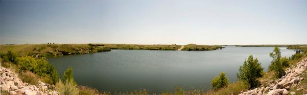 Avonlea Dam_panorama