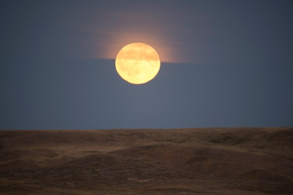 Grasslands Moonrise 1