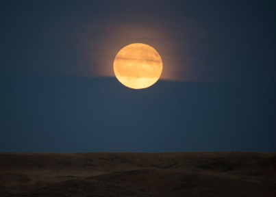 Grasslands Moonrise 2